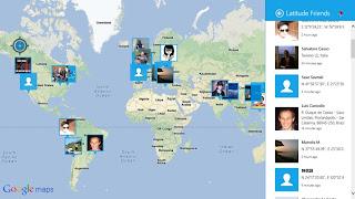 Aplikasi Peta untuk Windows 8