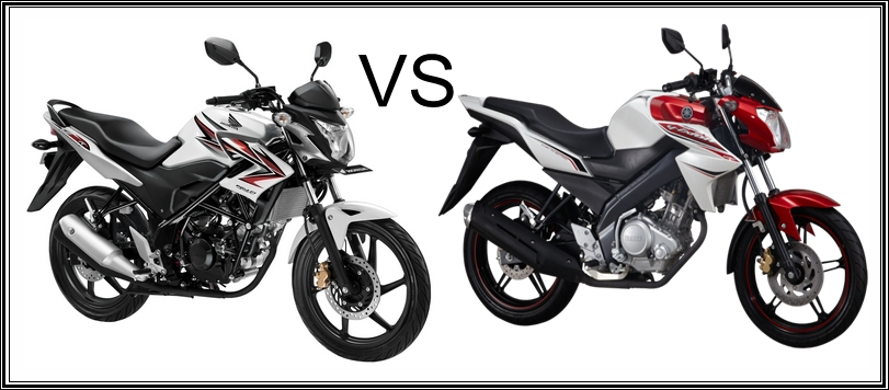 Honda CB150R StreetFire VS New Yamaha V-ixion 2013