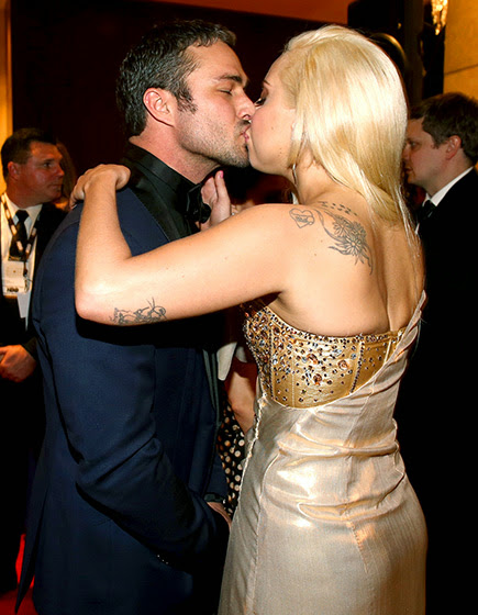 Chicago Fire's Taylor Kinney with his famous girlfriend