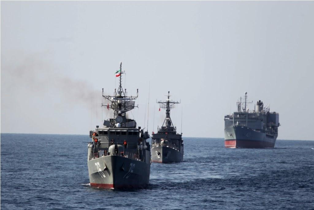 Iran Kerahkan Kapal Perang ke Samudra Atlantik
