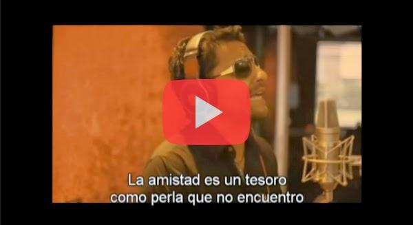 Video de Alex Campos tu amistad me hace bien