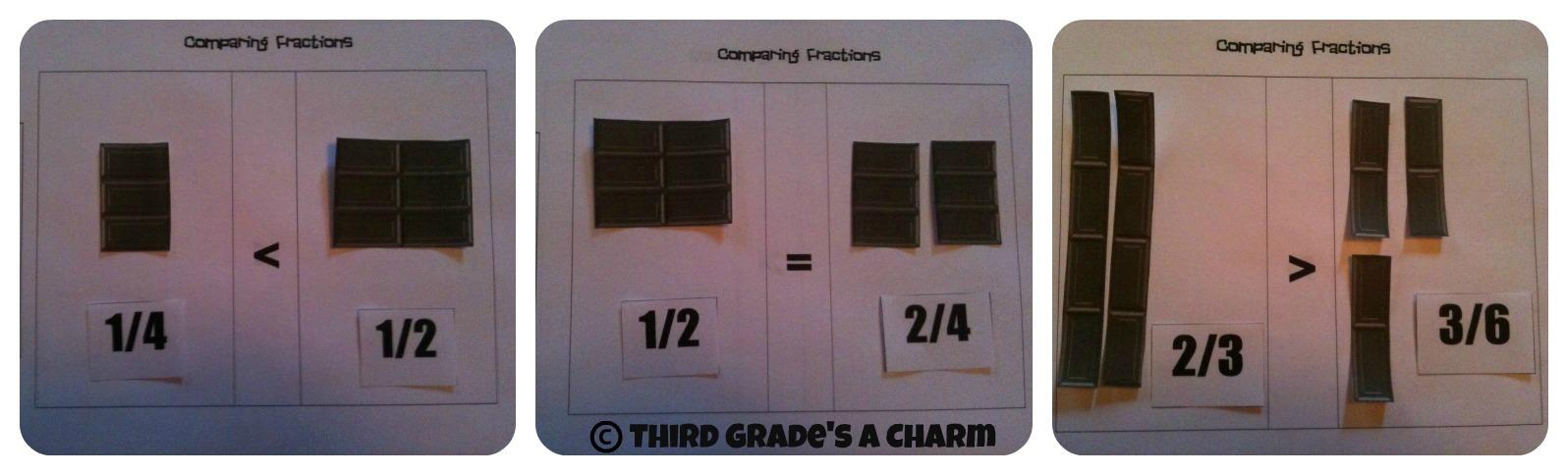 3rd Grades A Charm Hershey BarsYes Please – Hershey Bar Fraction Worksheet
