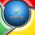 Edit chrome default search engine