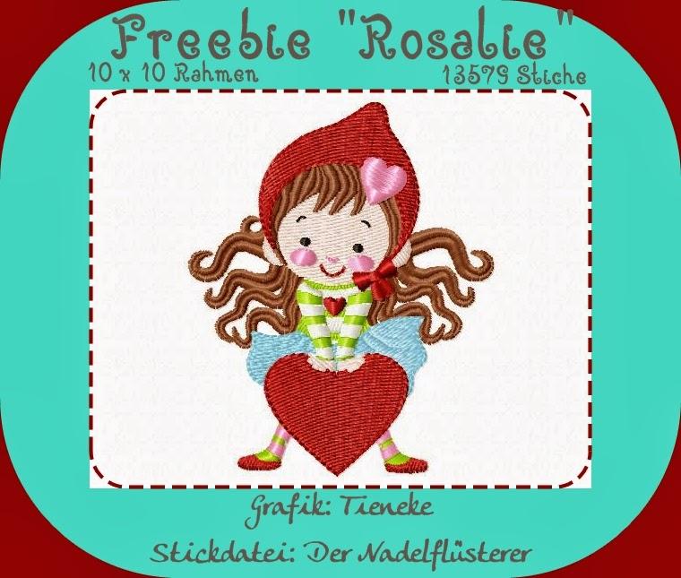 """Freebie """"Rosalie"""""""