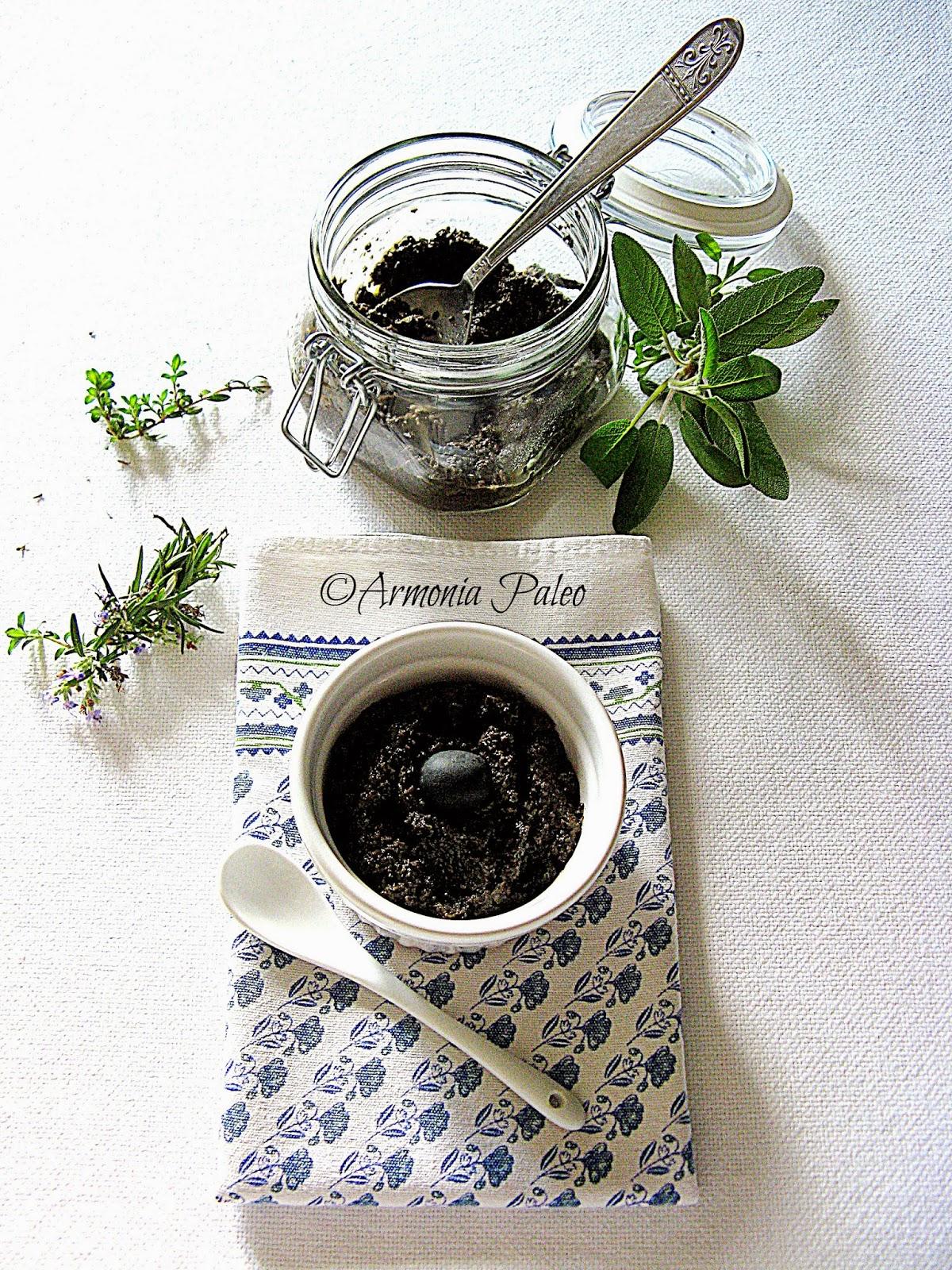 Tapenade - Pesto di Olive Nere di Armonia Paleo