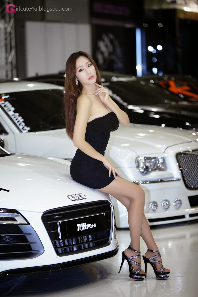 2 Kim Tae Hee - Seoul Auto Salon 2014 - very cute asian girl-girlcute4u.blogspot.com