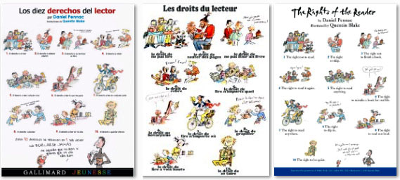 Los derechos del lector | Les droits du lecteur | The rights of the reader