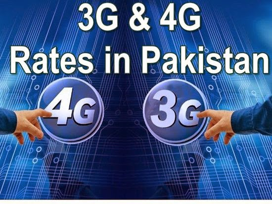 3G technology Arrived In Pakistan