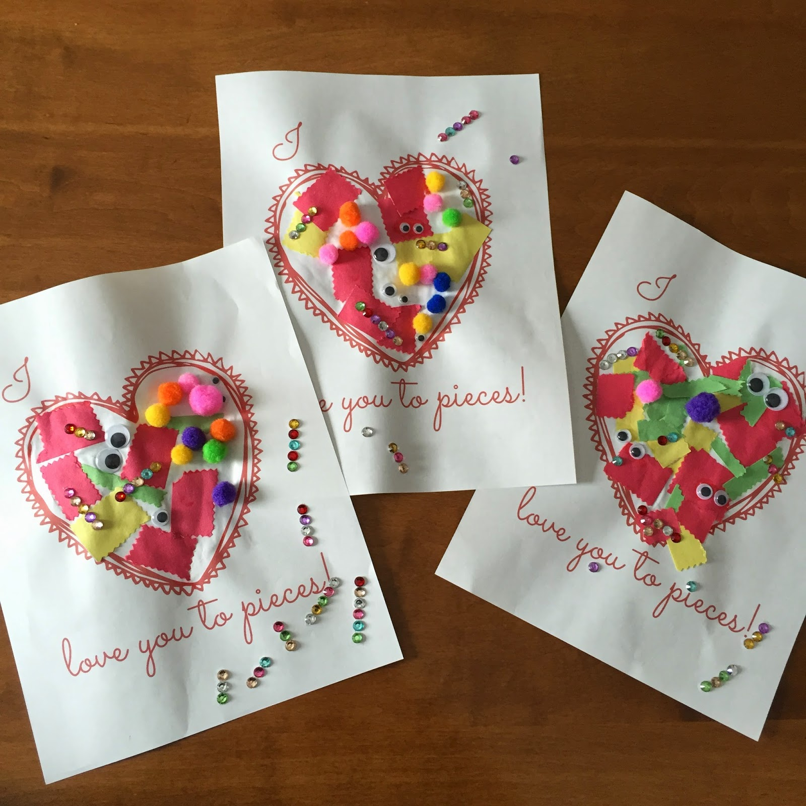 Quick and easy valentine crafts - Here Is A Quick And Easy Diy Valentine Day Craft If You Are A Last Minute Person Like Me My Daughter Loved Making A Couple Of These For Her Daddy And