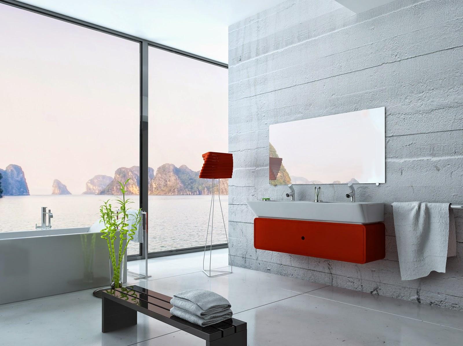 Eleganter heizen mit einer REDPUR Spiegelheizung