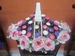 Chocolate Rose Pink/Purple Set Hantaran