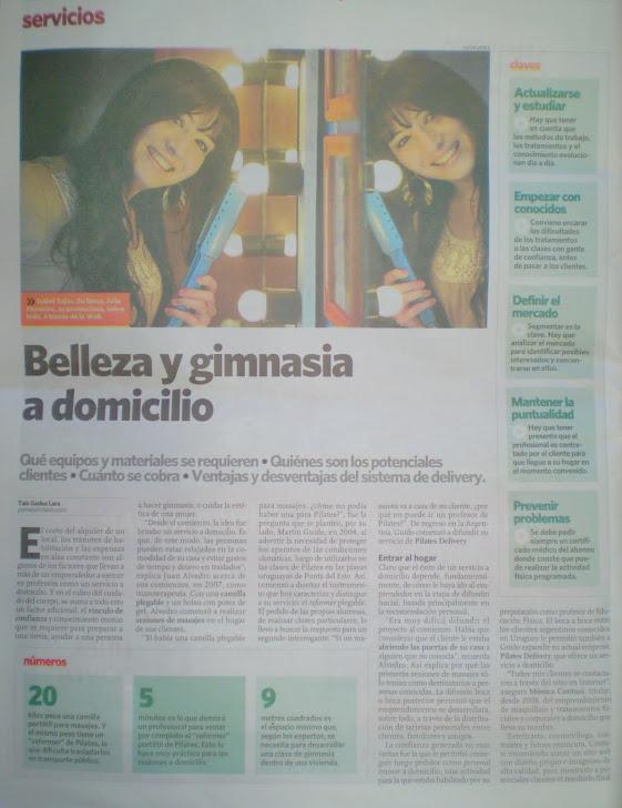 Entrevista de la Revista Pymes de Clarin con Jolié Peinados.