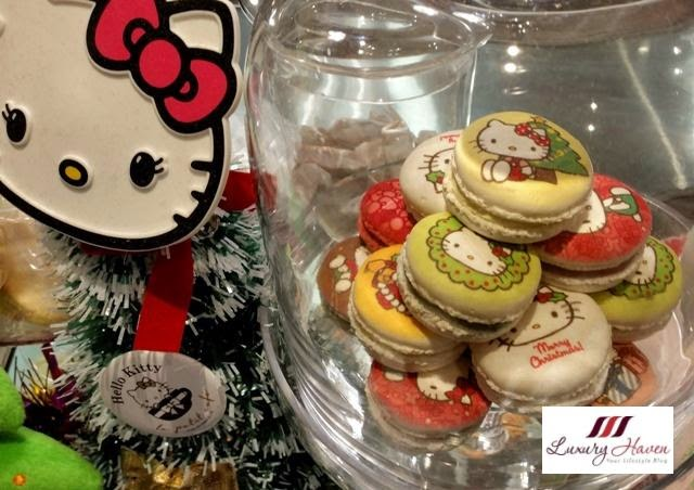 hong kong le petit cafe hello kitty macarons