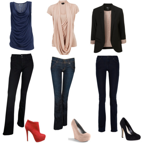 Gleebize : Dressing by your body shape