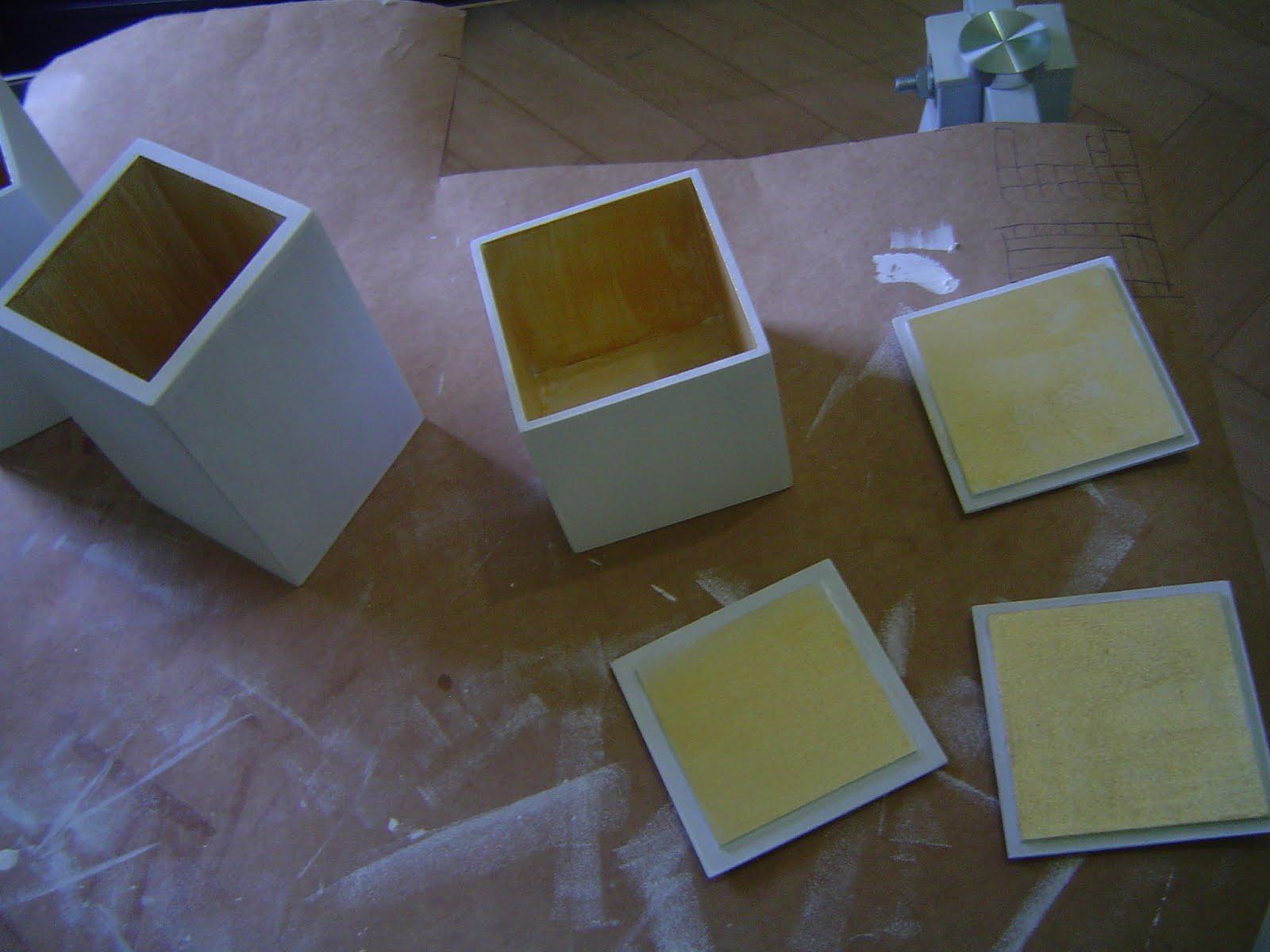 Potinhos para banheiro com textura de renda Tramas e Pinturas O  #2F4E9C 1600 1200