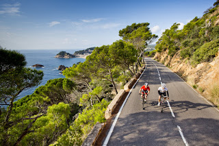 Costa Brava road Cycling