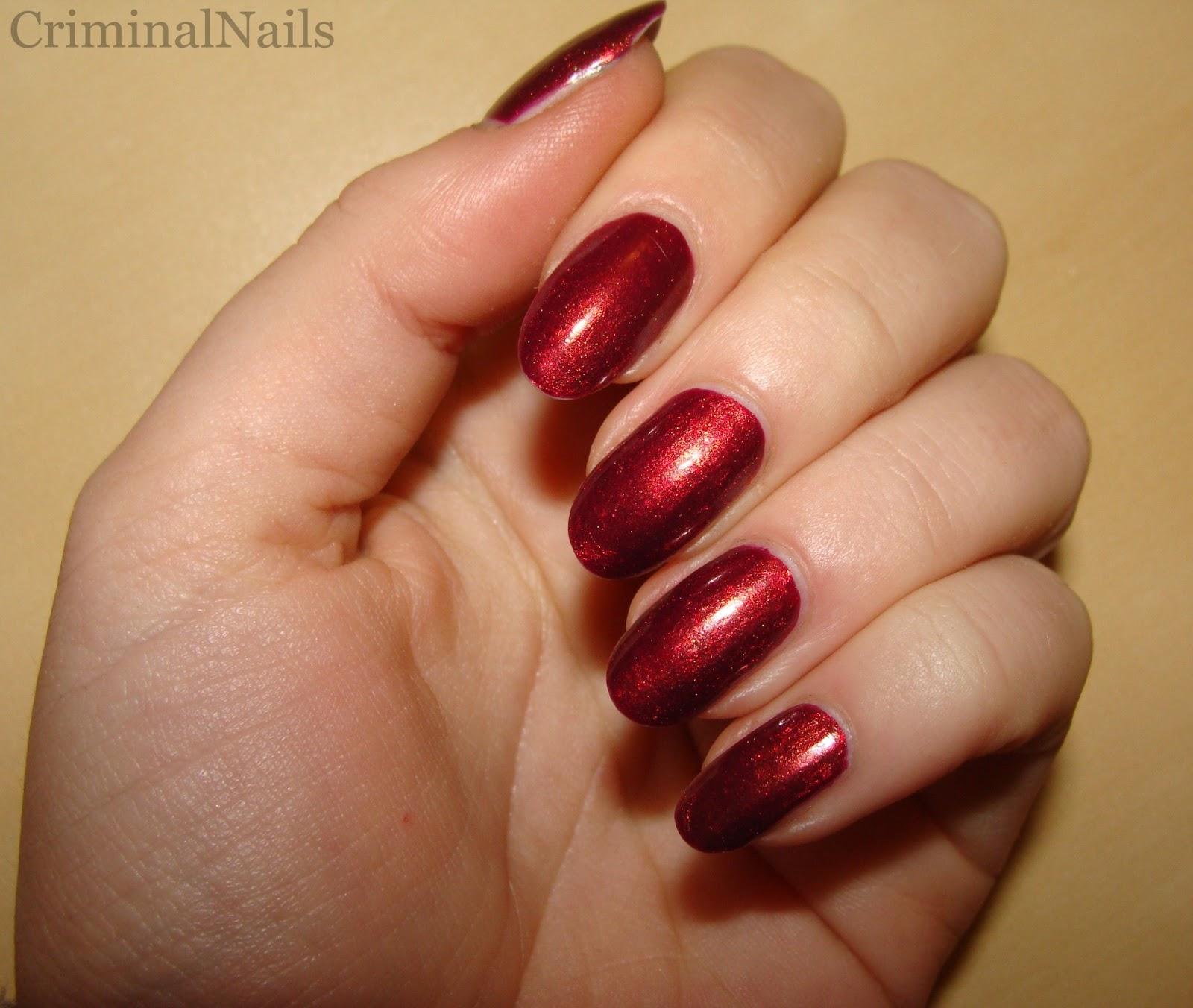 Dark Purple Acrylic Nails - Nails Gallery