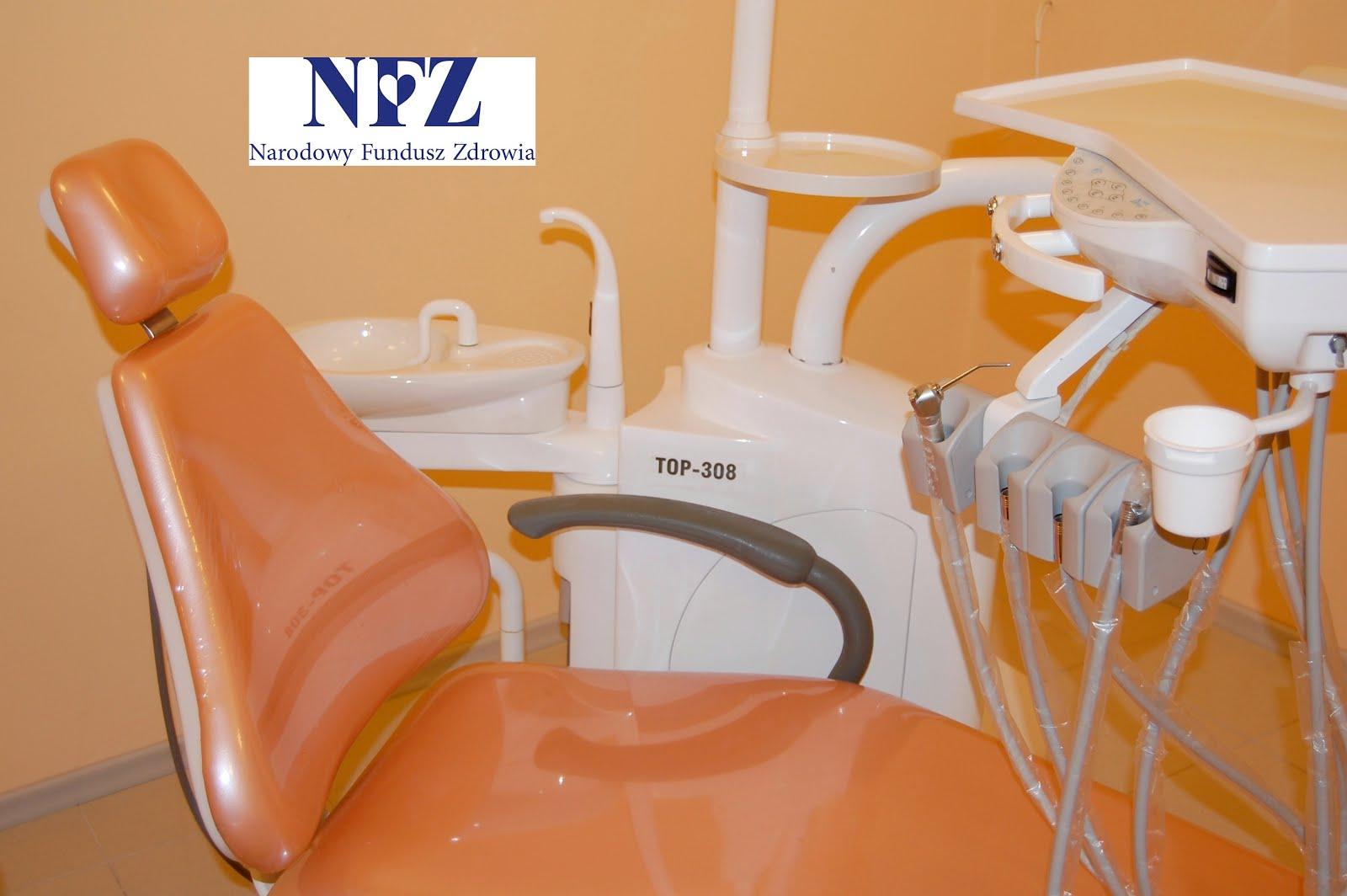 Dentysta.NFZ.Zielona Góra.Stomatolog.Bezpłatne leczenie stomatologiczne,protezy.