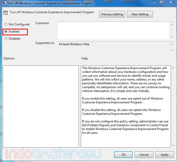 Mengatasi Windows Explores Has Stoped Working melalui gpedit.msc 4