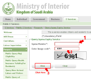 go ministry of interior kingdom of saudi arabia website