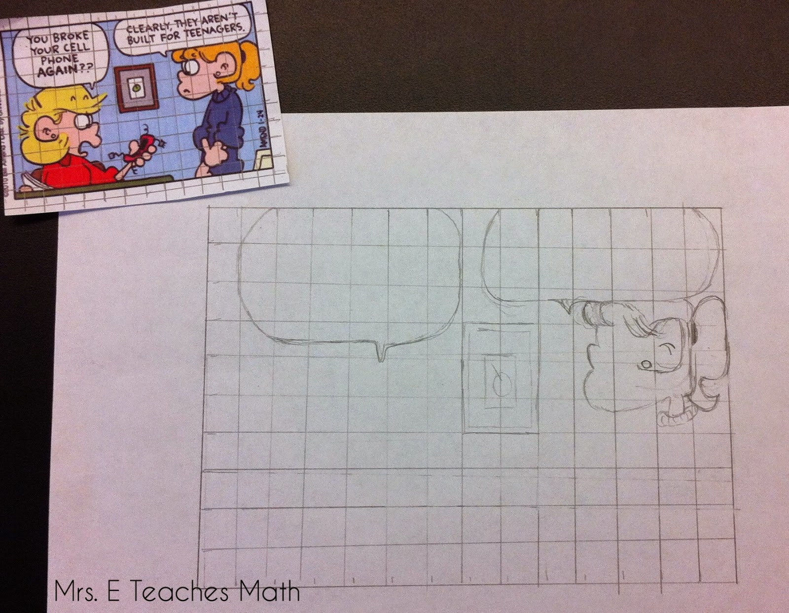 using scale drawings in geometry to teach similarity  |  mrseteachesmath.blogspot.com