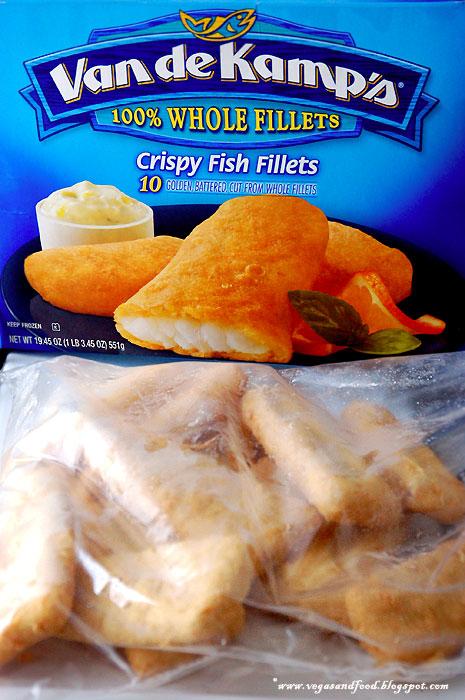 Van de kamp 39 s frozen fish fillets vegas and food for Frozen fish sticks