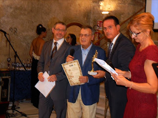 CITTA' DEL GALATEO: ANTONIO CATTINO DEDICA IL SUO PREMIO A OMAYMA BENGHALOUM