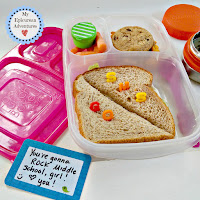 My Epicurean Adventures: Lunch Box Fun 2015-16: Week #1. Lunch box ideas, school lunch ideas, lunches