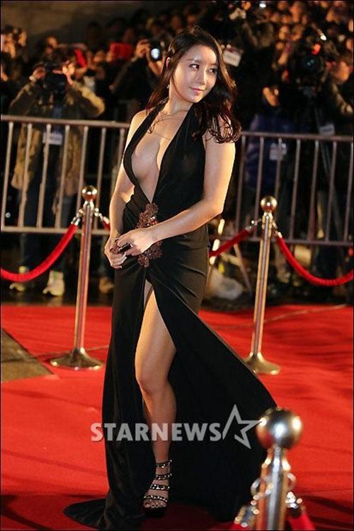Ha Na Kyung Wardrobe Malfunction