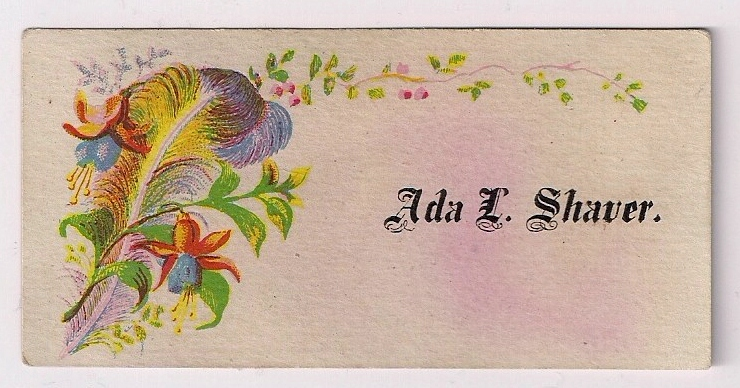 Vintage in a Modern World: Victorian Calling Cards