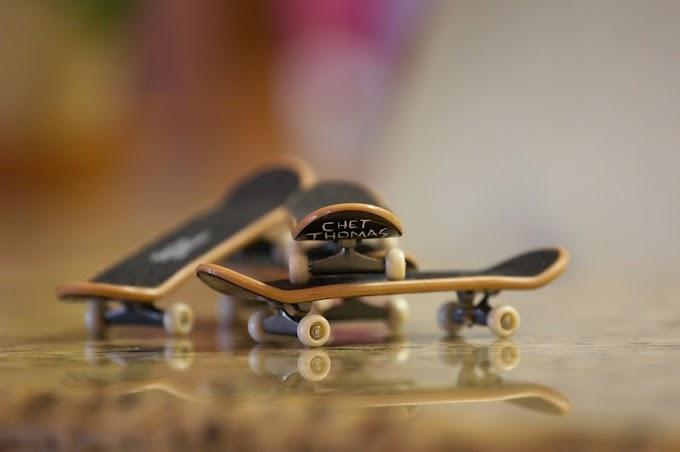 Sơ lượt về Finger Skate - Lướt ván bằng ngón tay