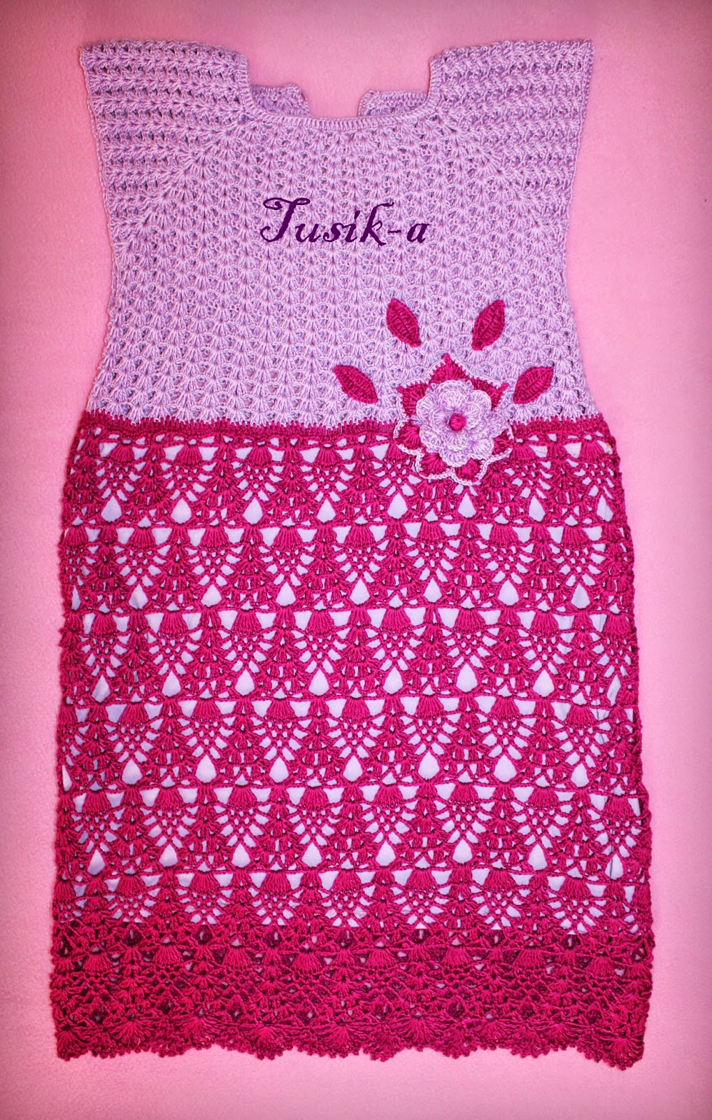 Платье крючком - Страна Мам 10
