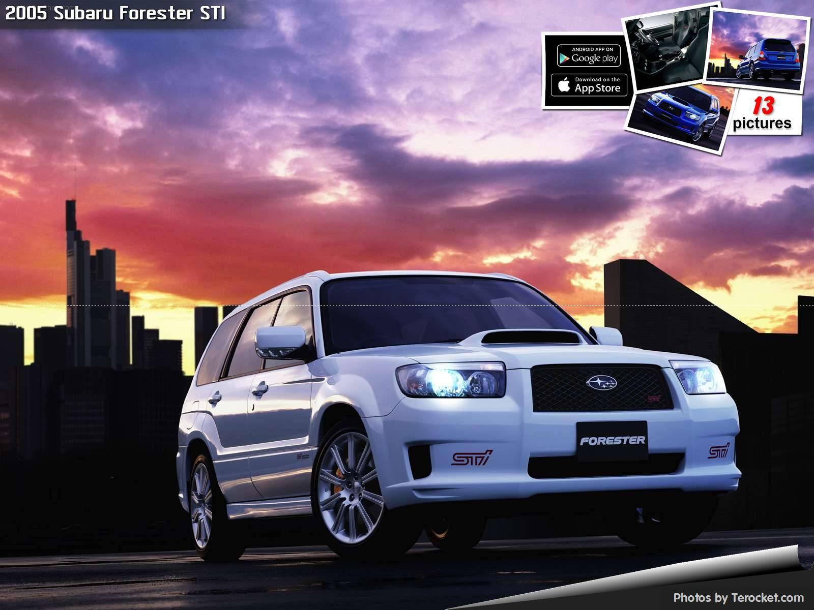 Hình ảnh xe ô tô Subaru Forester STI 2005 & nội ngoại thất