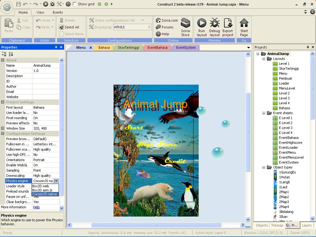 Tutorial mengekspor game html5 ke android construct 2 personal sumber dokumen penerbit baditri Gallery