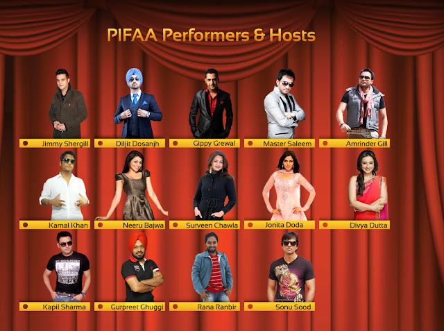 performers of PIFFA awards 2012