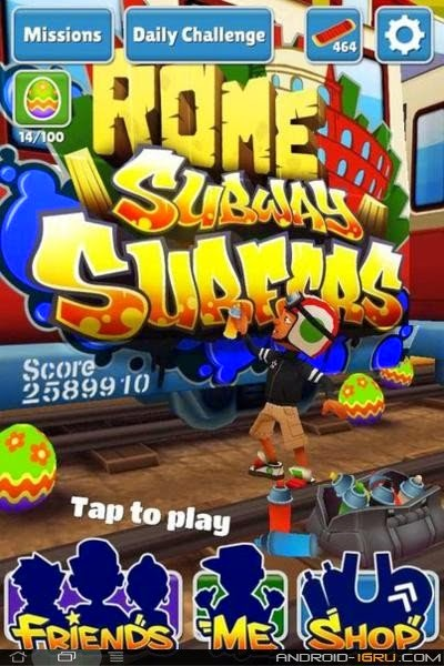 download free game Subway rome