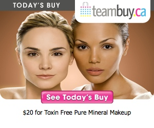 TeamBuy Winnipeg Deal: $20 for Gorgeous Toxin-Free Mineral Makeup from Purminerals.com ($40 Value)