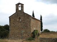 Façana de ponent de Sant Miquel de Vilageliu