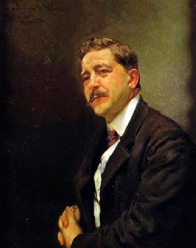 Emilio Sala Francés, Pintor Español, Retrato de Fidel Melgames