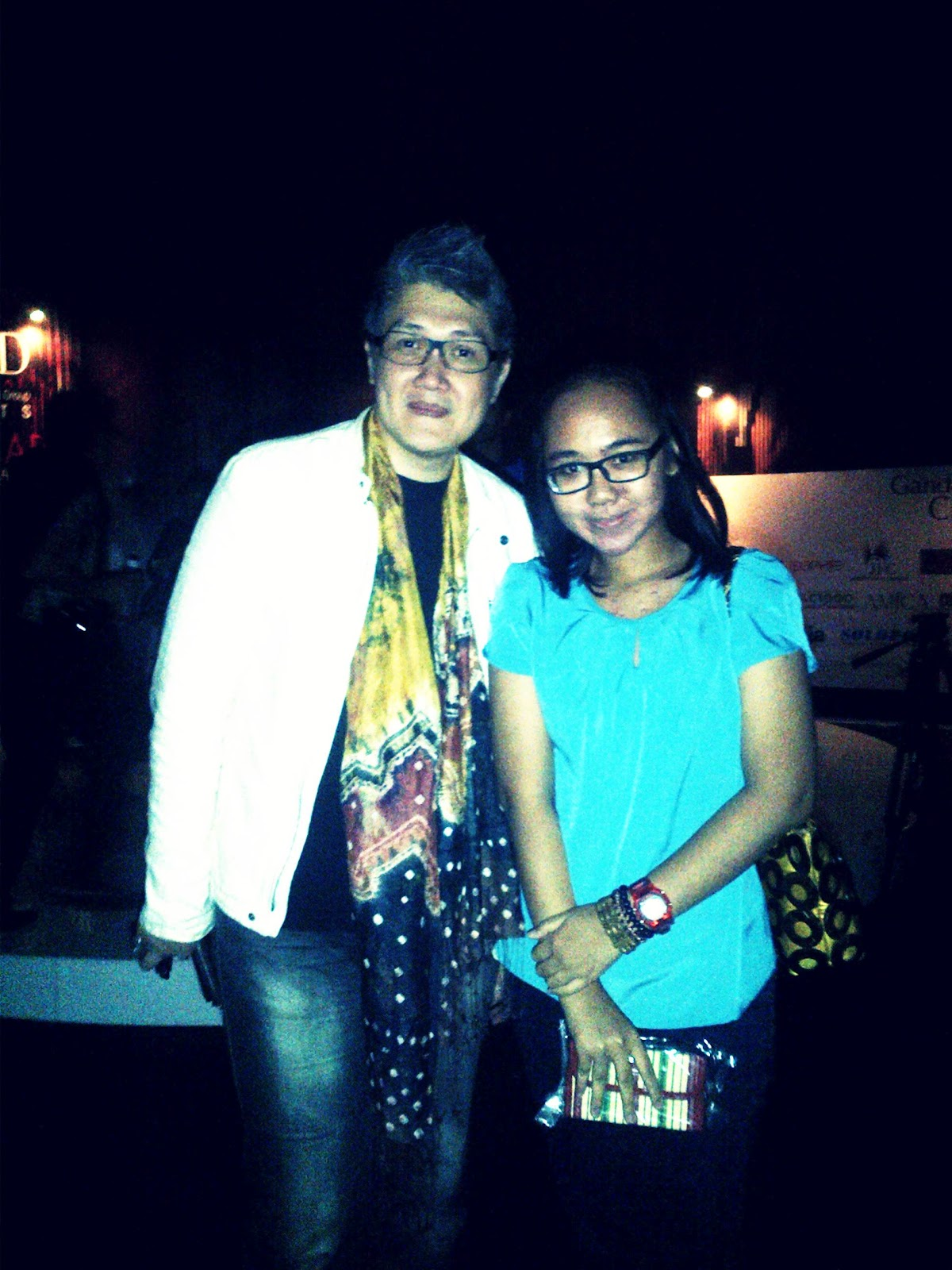 DANAR HADI BATIK & ESMOD INTERNATIONAL IN PESONA BATIK Me and one of the special guest Musa Widyatmojo