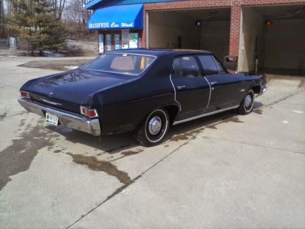 1968 Chevrolet Chevelle Malibu 4 Door Sedan - Buy American ...