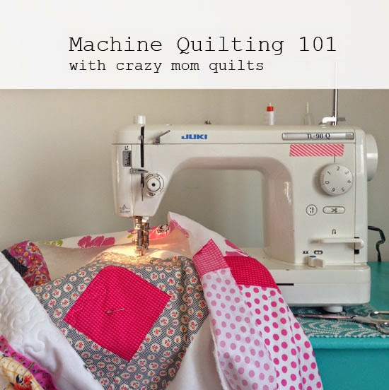 crazy mom quilts: Machine Quilting 101:Introduction : machine quilting at home - Adamdwight.com