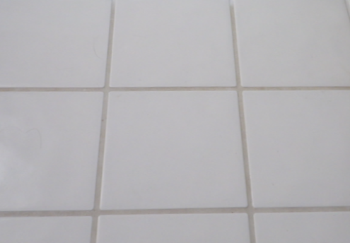 Sweetwater style how to clean your bathroom tile grout for How do you clean white grout