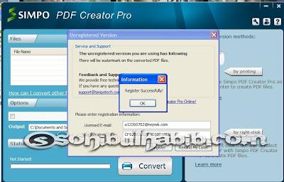 Simpo PDF Creator Pro 3.2.0.0 Full Serial