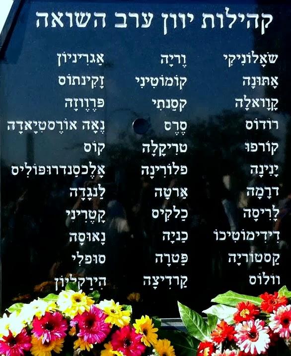 ואלה הם שמות כל 33 הקהילות הקדושות ביוון ערב השואה: