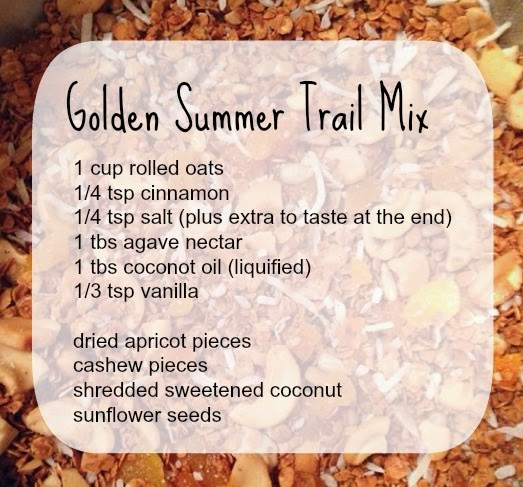 Golden Summer Trail Mix | Lindsay Eryn
