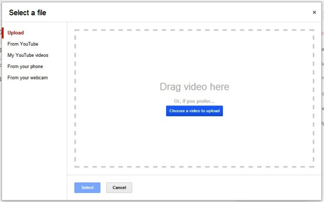 Cara Upload Video ke Posting Blog