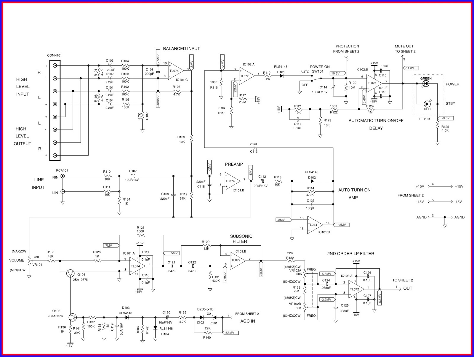 Electronic Equipment Repair Centre Infinity Bu1 Powered Subwoofer 3 Way Switch Wiring Diagram For Amp Standby Power Amplifier Circuit