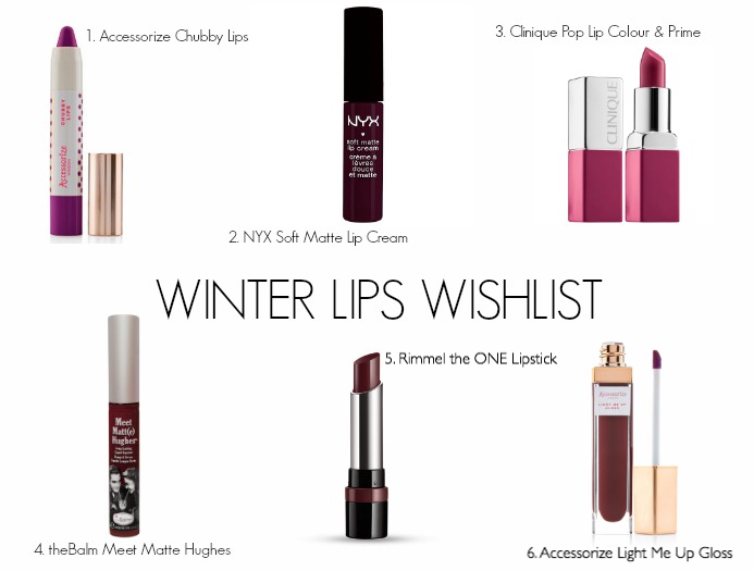 Winter Lips Wishlist