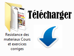 Résistance des matériaux : Cours et exercices corrigés par Jean - Claude doubrère Capture
